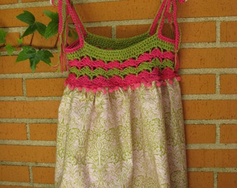 Vestido de niña, Dress for a girl, Vestido para el verano, Summer dress