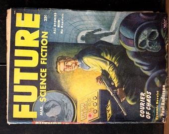 Sci-Fi Science Fiction Magazine FUTURE Pulp Fiction March 1953 Volume 3 Number 6