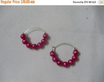 Ultra modern hoop earrings