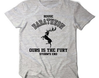 Game of thrones House Baratheon ours is the fury tee t shirt tumblr top