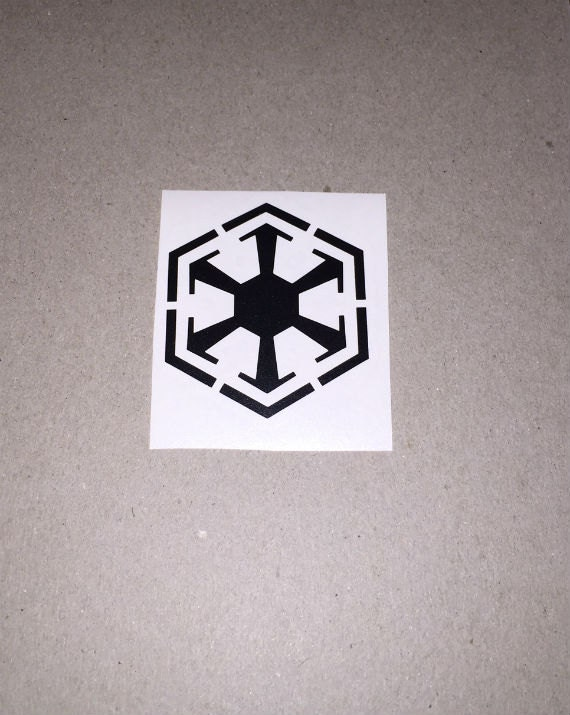 star wars sith empire vinyl decal sticker by jerseycustomz. Black Bedroom Furniture Sets. Home Design Ideas