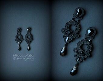 Boucles d 39 oreilles et collier fait main de par mildossutazas - Boucle d oreille fait main ...