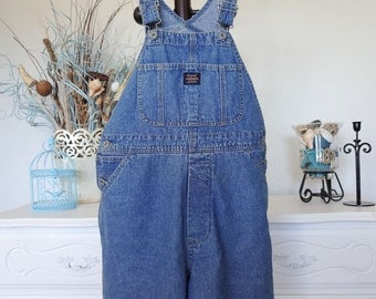 Womens Overall Shorts Small