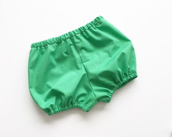 Crisp green shorties