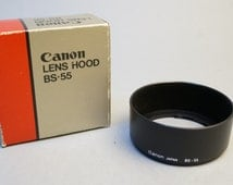 Canon Lens Hood BS-55 fits FD 50mm f1.4 and 1.8