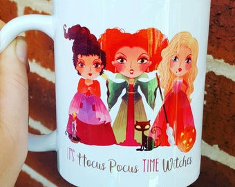 Hocus Pocus mug it's hocus pocus time witches 11oz