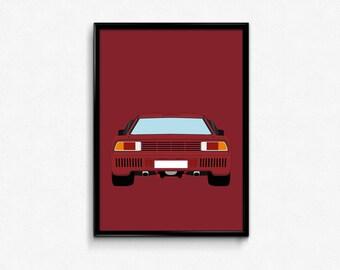 Lancia 037 A3 Print