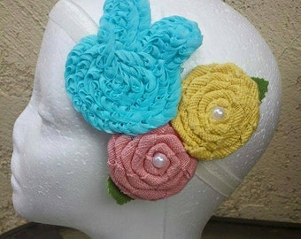 Shabby Chic Easter Headband
