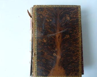 Beautiful, Vintage 1860 book 'The Marble Fann' by Nathaniel Hawthorne.