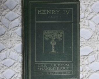 Henry IV, Part I, 1917 Edition