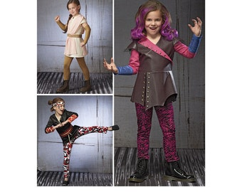 Simplicity Sewing Pattern 8241 Child's Warrior Costumes
