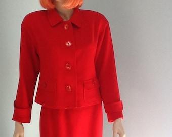 90's Wool Suit,Size 4,Rickie Freeman