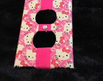 Cute Kitties switch plate cover