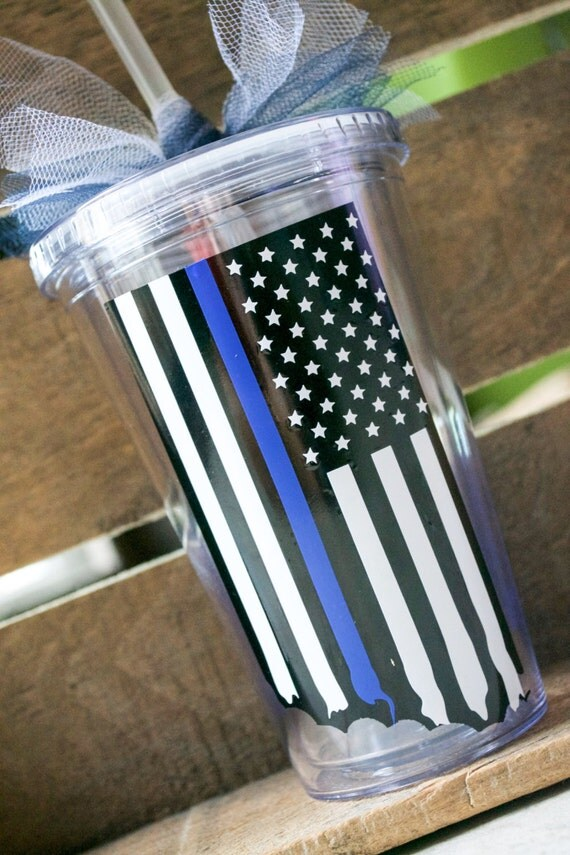 Police force tumbler