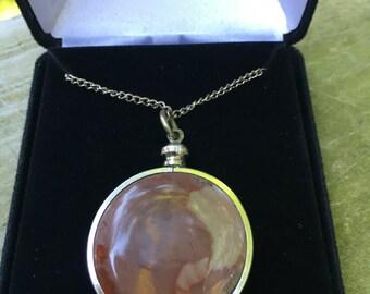 Jasper Necklace, Sterling Silver, Sterling Silver Necklace, Natural Jasper, Handmade Necklace