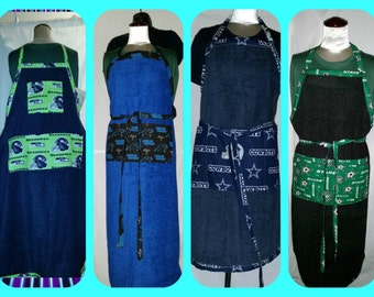 Fully functional full size aprons