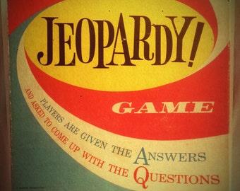 Vintage Jeopardy Board Game