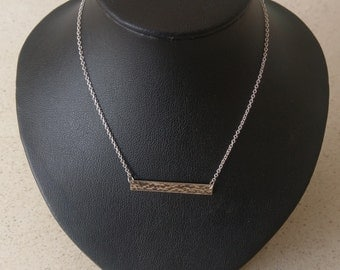 Handmade Solid 925 Sterling silver necklace