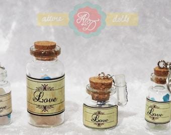 Bottle Charm 'Love'