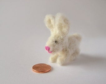 Knitted Little Bunny Miniature