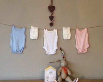 Baby Shower Bunting Its A Boy Its A Girl Christening Banner