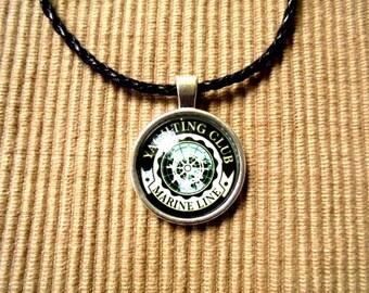 Leather necklace, Maritim (1152)