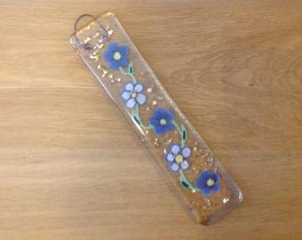 Fused Glass Flower Suncatcher