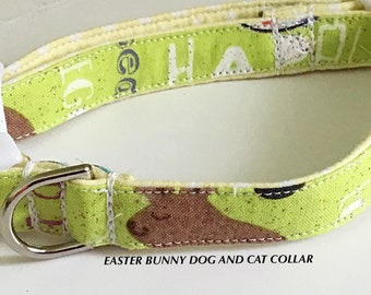 Easter Bunny Collar for Dogs and Cats