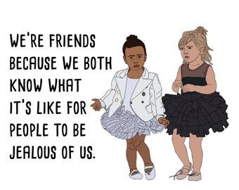 Best Friends Kardashian Card