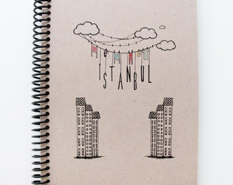 Istanbul Series Spiral Notebook 2