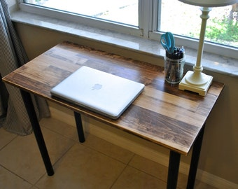 Solid Wood Desk or Laptop Desk - Choose Your Size and Colors!