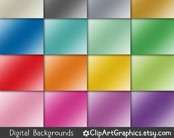 Digital Paper - foil digital paper, metallic gradient, shiny backgrounds, rainbow foil, silver foil, gold foil, pink foil, blue foil graphic