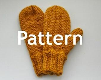 Maribel Knitted Mitten PATTERN
