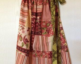 Girl's Pillowcase Dress & Pants - Rose Paisley