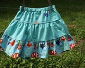 "Girls Size 6 ""Finding Dory"" skirt"