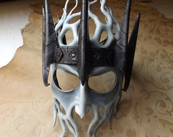 BarrowLord leather mask, by Ancestor Leathercrafts