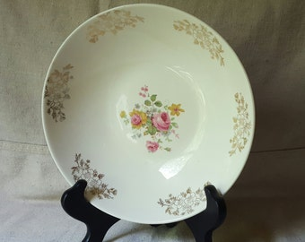 Vintage Homer Laughlin Floral Bowl- Rhythm