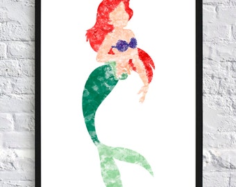 Ariel Watercolour - Framed