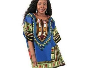 African Dashiki Plus Size