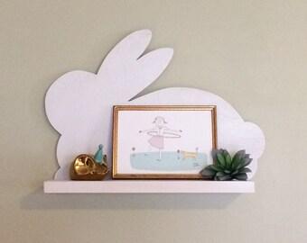 Bunny Wall Shelf