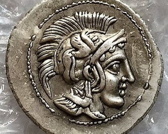 Athena tetradrachm,Museum COPY of ca.450 BC issue Ships fast