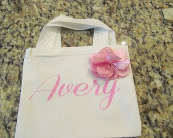 Toddler Personalized Totes, Totes, Little Girl, Little Totes, Little Girl Accessories, Baby Gifts, Shower Gifts