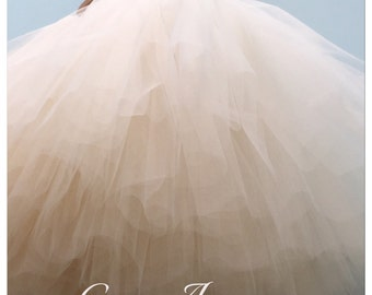 Extra Layer of Tulle - extra fluffy, puffiness for your Flower Girl.