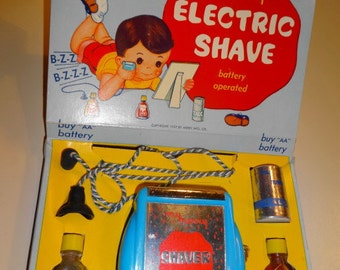 1957 My Merry Electric Shave - Shaving Set