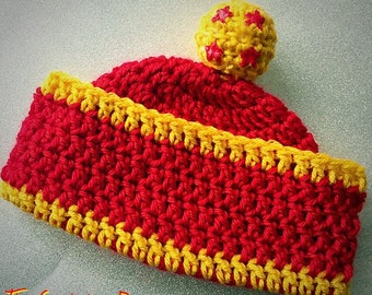 Crocheted hat DBZ