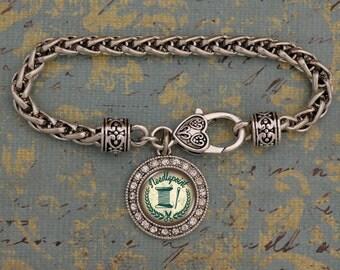 Needlepoint Artisan Bracelet - OTNDP47754