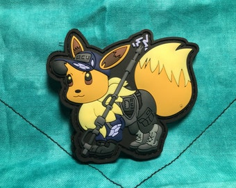 Eeveelutions -  uses electric shock- morale pvc patch-