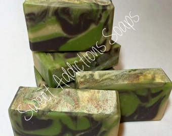 Mayan Gold guest sized soap