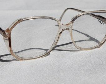 gro e vintage brillen bergr e schwarz brillenfassungen. Black Bedroom Furniture Sets. Home Design Ideas