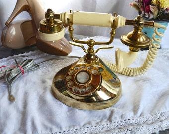 Working Vintage Rotary Phone